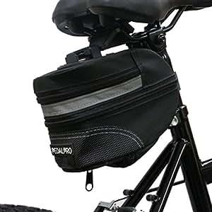 PedalPro Large Expandable Bicycle Saddle Bag