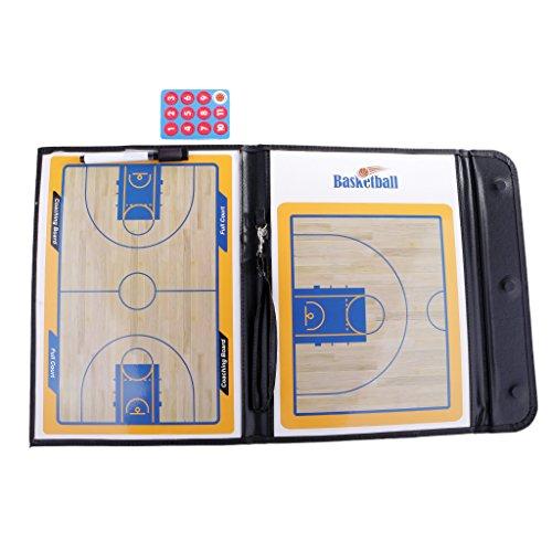 T TOOYFUL Pro Basketball Coaching Board Basketball Taktische Board Coaches Zwischenablage (Basketball Coaching-board)