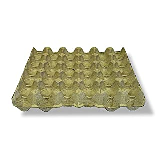 EGG TRAYS LARGE PACK x 154 CARDBOARD EGG PACKAGING (EACH TRAY HOLDS 30 EGGS)