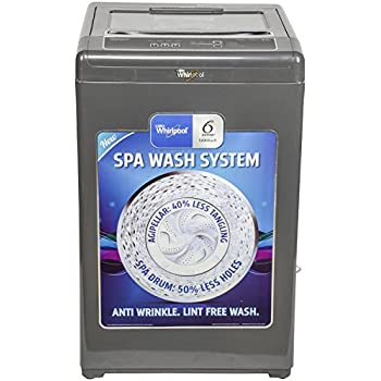 Whirlpool 6.2 kg Fully-Automatic Top Loading Washing Machine (WM Classic Plus 621S, Dark Grey)