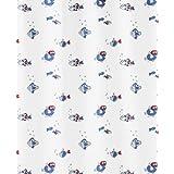 Kleine Wolke 5162700305 Duschvorhang Freddy, 180 x 200 cm, blau