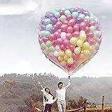 SHIYN Rete per Palloncini Volanti, Borsa per Palloncini Galleggianti, Rete di Sollevamento Strumento Speciale per Palloncini in Elio (Non Includere Palloncini),Holds1000balloons