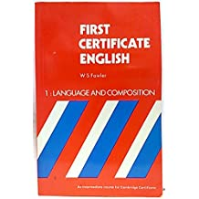 First certificate english. 1 Languaje and composition