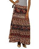 Fashiana Women Red and Brown Long Stylis...