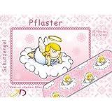 10 Pflaster * SCHUTZENGEL ROSA * mit 19x72mm vom Döll-Verlag // 263103 // Kinderpflaster Kinder Geburtstag Kindergeburtstag Mitgebsel Fee Elfe Prinzessin Rosa Pink Mädchen