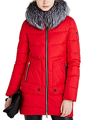 ICEbear Women's Thick Hooded Quilted Jacket Coat Faux Fur [16G688]