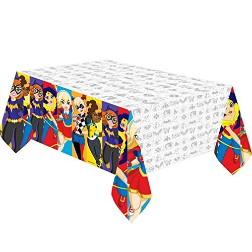 DC Super Hero Girls Plastic Party Tablecover by DC Superhero Girls