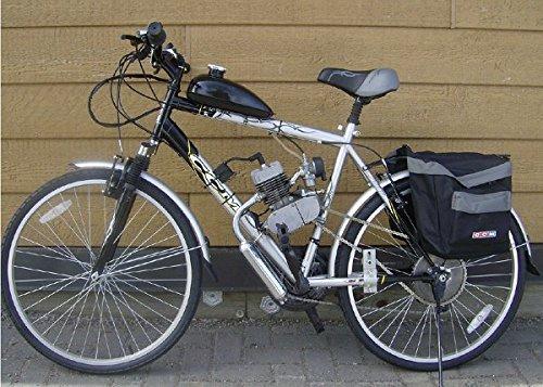 Kungfu Mall Motorrad-Endschalldämpfer für 2 Fahrräder, 80 cc