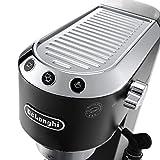 De'Longhi Dedica Style EC685BK Traditional Pump Espresso Machine - Black/charcoal