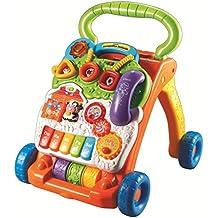 VTech Baby Correpasillos andandín 2 en 1, multicolor, versión española (80-077022)
