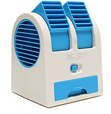 ShopAIS Mini Air Conditioner Cooling Fragrance Fan (Random Color)