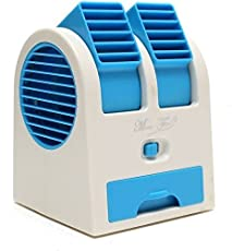 House of Gifts Mini Dual Bladeless Fragrance Fan(Multicolour)