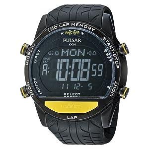 Reloj de caballero Reloj de caballero Pulsar PV4005X1 - Reloj de Caballero movimiento de cuarzo con correa de caucho de Pulsar