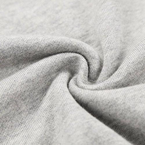 Kapuzenpullis Frauen Best Friends Sweatshirt Langarm Damen Hoodies Pullover Tops Bluse Kapuzen von ZIWATER .Grau