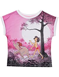 Disney Jungle Book-Marching-Kids T-White, Survêtement Fille