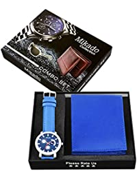 Mikado Artistic Gift Item Combo Of Watch & Wallet For Boy's And Men's