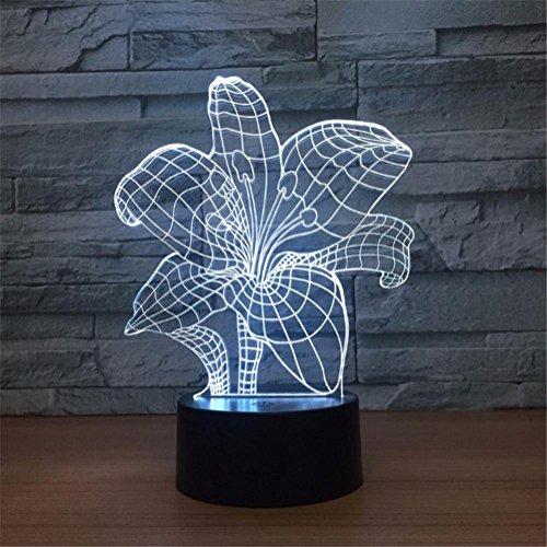 3D Lampe LED Night Light 7 Chang...