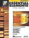 Essential Elements 2000, Book 1 Plus DVD: Percussion (Percussion Book 1)