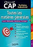 Objectif CAP - Toutes les matières générales CAP (Objectif Bac Toutes les matières) (French Edition)