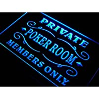 ADV PRO s144-b Private Poker Room Member Room Neon Light Sign