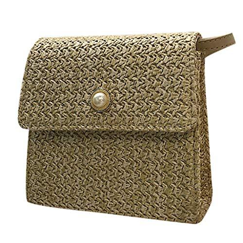 Mitlfuny handbemalte Ledertasche, Schultertasche, Geschenk, Handgefertigte Tasche,Frauen-modische Webart-Umhängetaschen-Damen-Retro Landschafts-Freizeit-Crossbody-Taschen