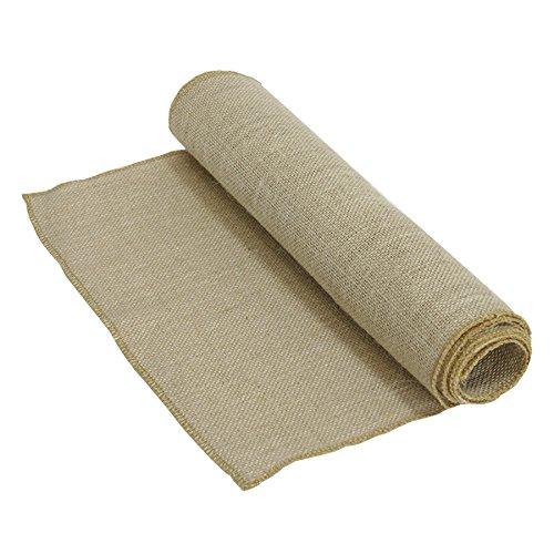 n Romance Sackleinen Tischläufer (2m x 40cm), Papier, Multi, 3,5x 22,5x 30cm (Sackleinen Papier)