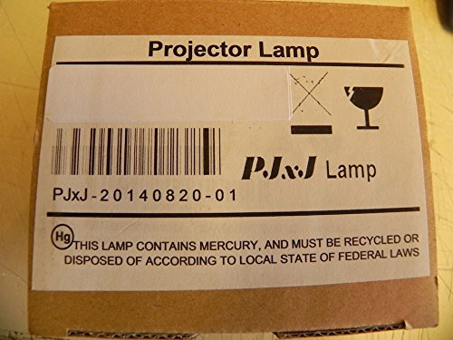 Buy PJxJ replacement projector lamp ET-LAA410 with housing for Panasonic PT-AE8000 PT-AE8000U PT-AT6000 PT-AT6000E projectors beamers Discount