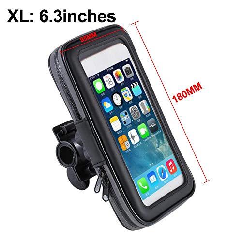 Sanmubo Fahrrad Telefon wasserdichte Tasche Fahrrad Tasche fahrradrahmen Tasche oberrohr Telefon Taschen empfindliche Touchscreen wasserdichte Lenker fronttelefon Rahmen taschenhalter für Handy -