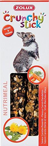 ZOLUX Crunchy Stick Conejo Zanahoria/Diente