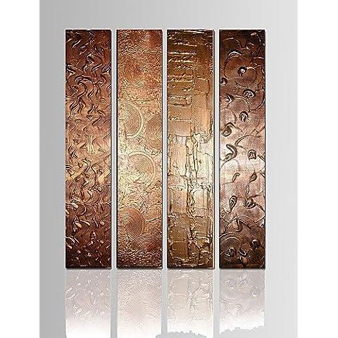 LAPS Panel star4 visual Reproducción en lienzo de pared abstracta pintura al óleo lienzo decoración Art listo para colgar