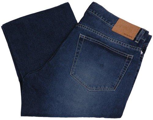Gant Jeans da uomo pantaloni 2. Wahl, Model: TYLER, colore: blu scuro,--, nuovo---, upe: 149.90Euro Dunkelblau 34W x 30L