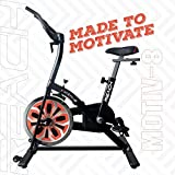 REACH Motiv-8 Spin Bike for Weight Loss at Home | Exercise Fitness Spinning