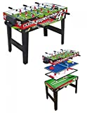 Sport One Mini Supertable - Table multi-jeux 4-en-1 et compacte