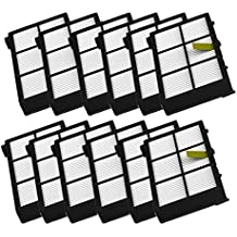 Malloom 10Pack Reemplazo del Filtro de HEPA para irobot Roomba 800 Serie 870 880 (A
