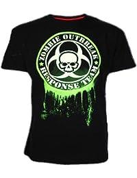 Darkside – Zombie Outbreak Response Team T-Shirt leuchtet im Dunkeln