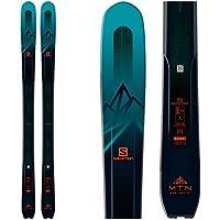 Salomon MTN Explore 95 - Esquís, 184cm, Verde Oscuro/Naranja