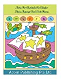 Farbe Für Buchstabe Für Kinder: Autos, Flugzeuge Und Boote Thema