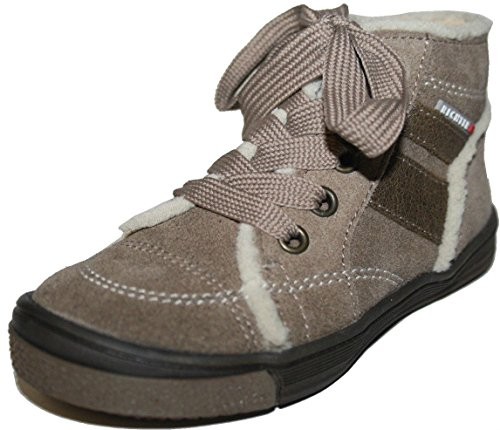Juge-garçon fille chaussures 62.1212.1181 &, bottines femme noisetier/taupe Gris - taupe/hasel