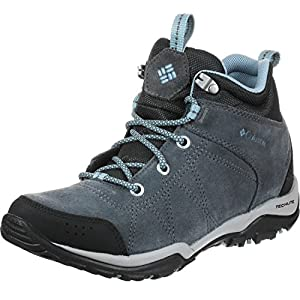 51WqK5vgcYL. SS300  - Columbia Women's Fire Venture Mid Waterproof Low Rise Hiking Boots