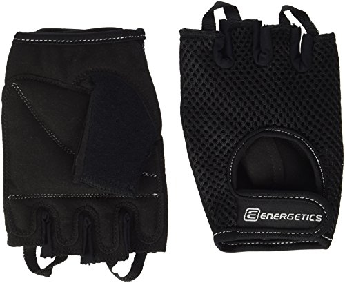 ENERGETICS Training 110 Handschuhe, Schwarz/Grey, One Size -