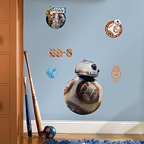 RoomMates RMK3147GM RM - Star Wars VII - BB-8 Wandtattoo, PVC, Bunt, 48 x 13 x 2.5 cm