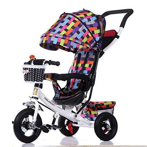 Triciclos Infantil Plegable Preescolar 3 1 Carrito