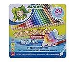 JOLLY 3001-0002 - Superstick Aqua, Lernmaterialien, 24 Farben