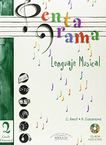 Pentagrama II Lenguaje Musical Elemental (Pentagrama Lenguaje Musical 2) por Carmen AMAT CUNNINGTON