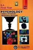 B.A First Year PSYCHOLOGY [ ENGLISH MEDIUM ]