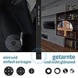 Mini Kamera,FREDI HD 1080P Tragbare WLAN Netzwerk Klein IP Kamera Mini Kamera P2P Drathlos mit Bewegungsmelder/Mikrofon/Videoaufzeichnung �berwachungskamera mit Akku (Verbesserte) medium image