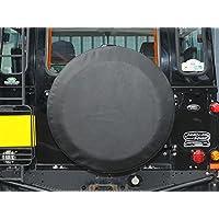 Land Rover Rueda de repuesto neumático funda 235x 85x 16vinilo Plain negro parte: da2027