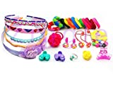 Ziggle Hair Accessories For Girls 30 Pcs - Multi Color