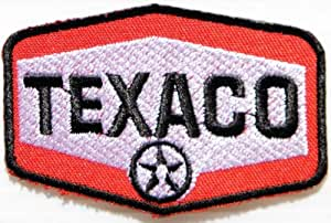 TEXACO OIL Logo Racing Jacket T-shirt Ecusson brode Patch Sew Iron on Embroidered Emblem