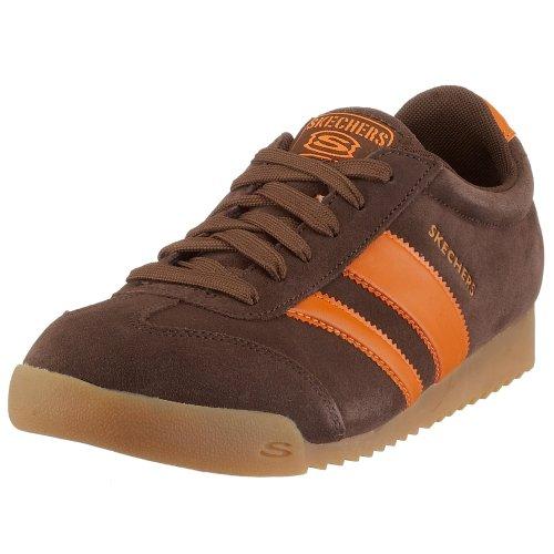 Skechers Herren Zingers Meander 2 Sneakers, Braun (BROR), 44